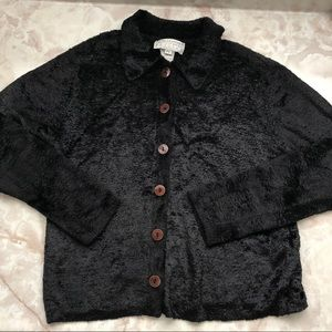 Faux Fur Vintage Teddy Cardigan
